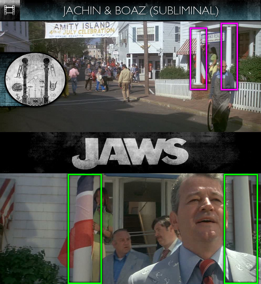 Jaws (1975) - Jachin & Boaz - Subliminal