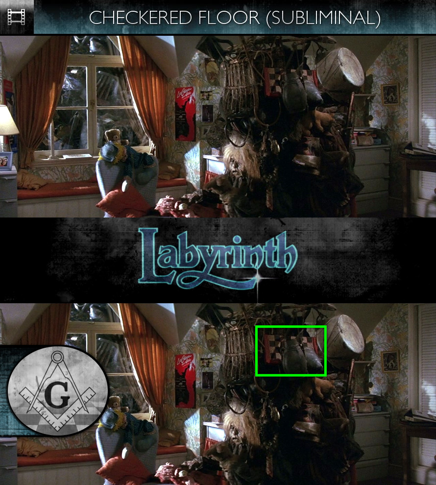 Labyrinth (1986) - Checkered Floor - Subliminal