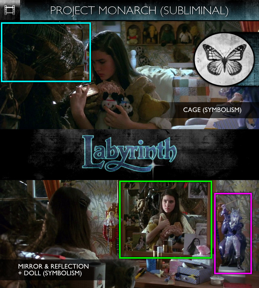 Labyrinth (1986) - Project Monarch - Subliminal