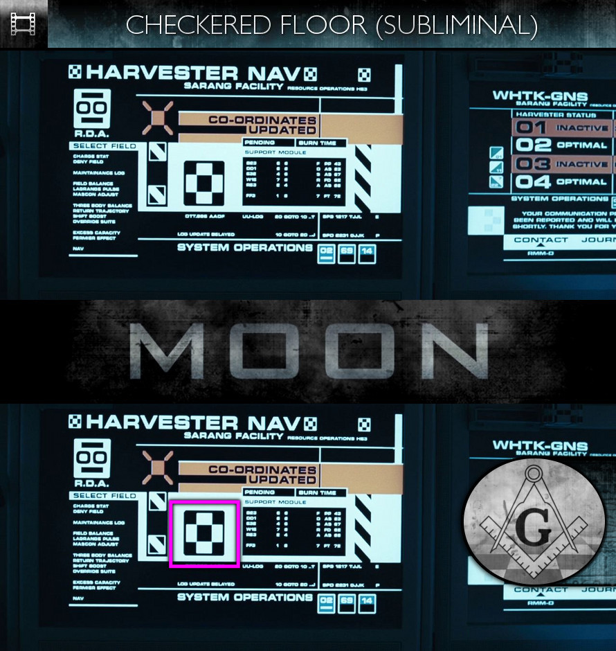 Moon (2009) - Checkered Floor - Subliminal