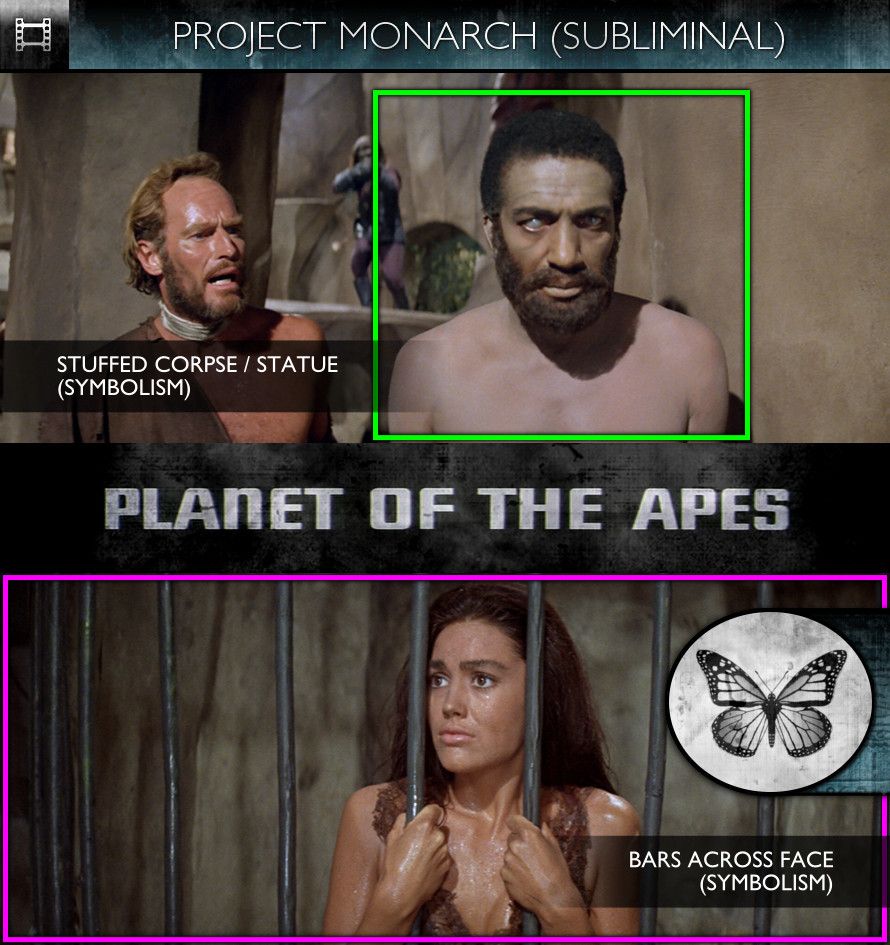 Planet of the Apes (1968) - Project Monarch - Subliminal