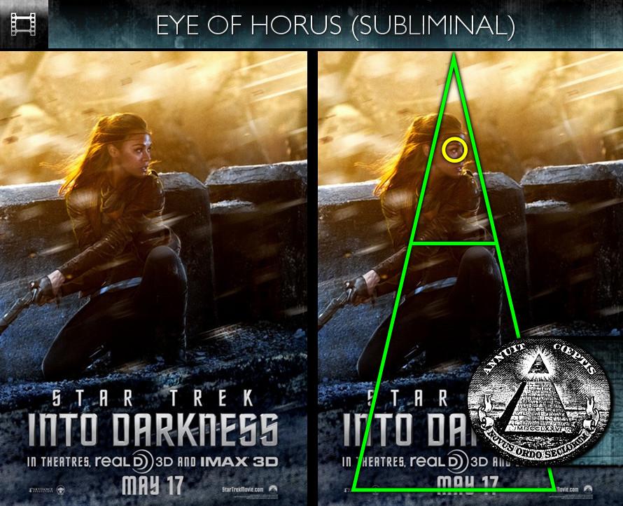 Star Trek Into Darkness (2013) - Poster - Eye of Horus - Subliminal