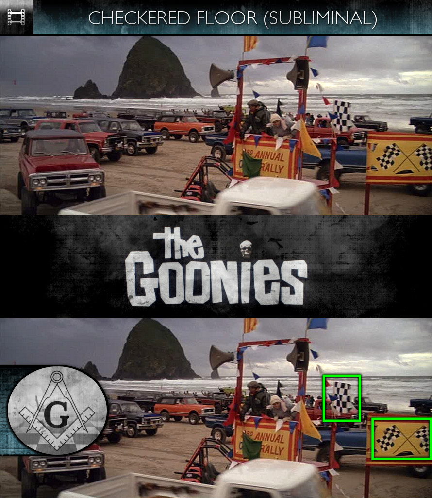 The Goonies (1985) - Checkered Floor - Subliminal