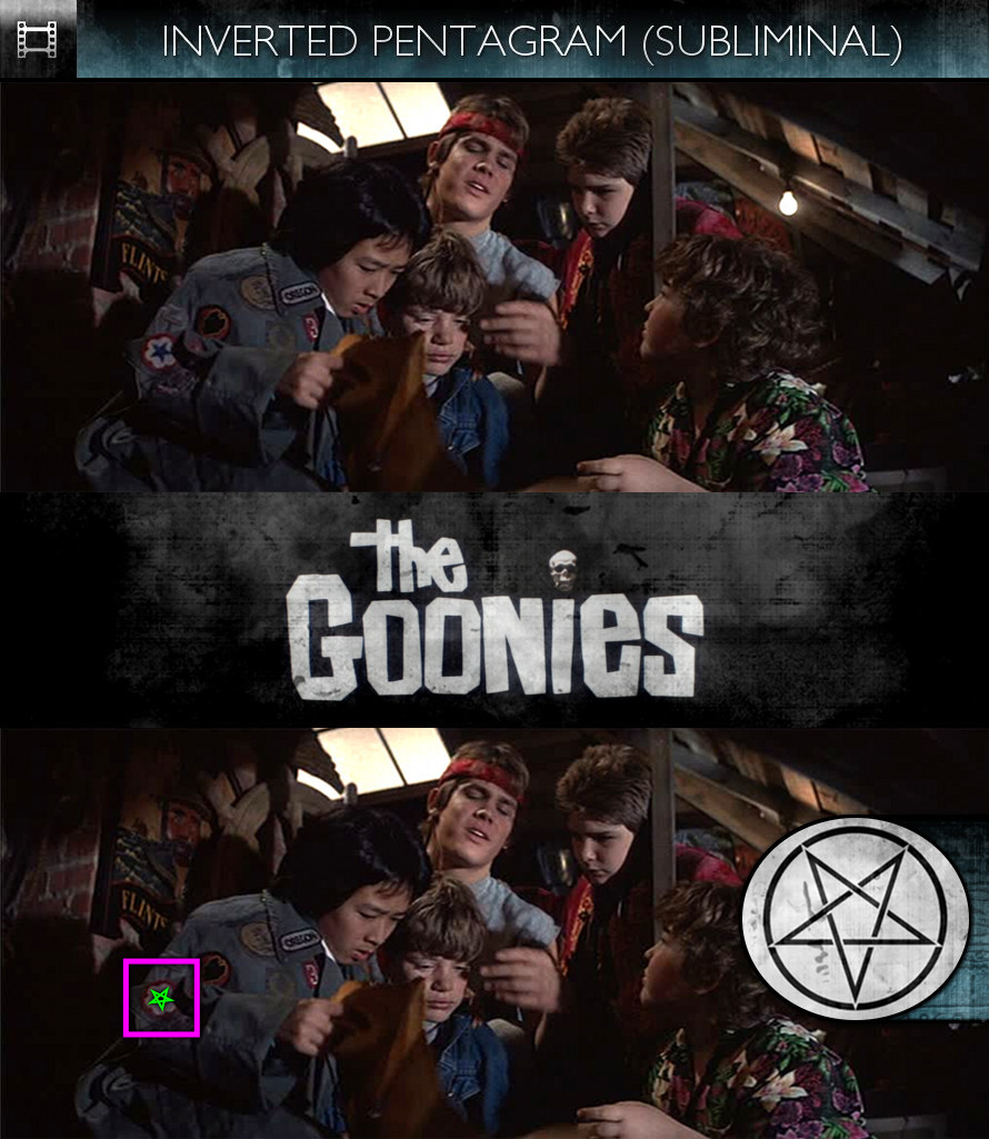 The Goonies (1985) - Inverted Pentagram - Subliminal