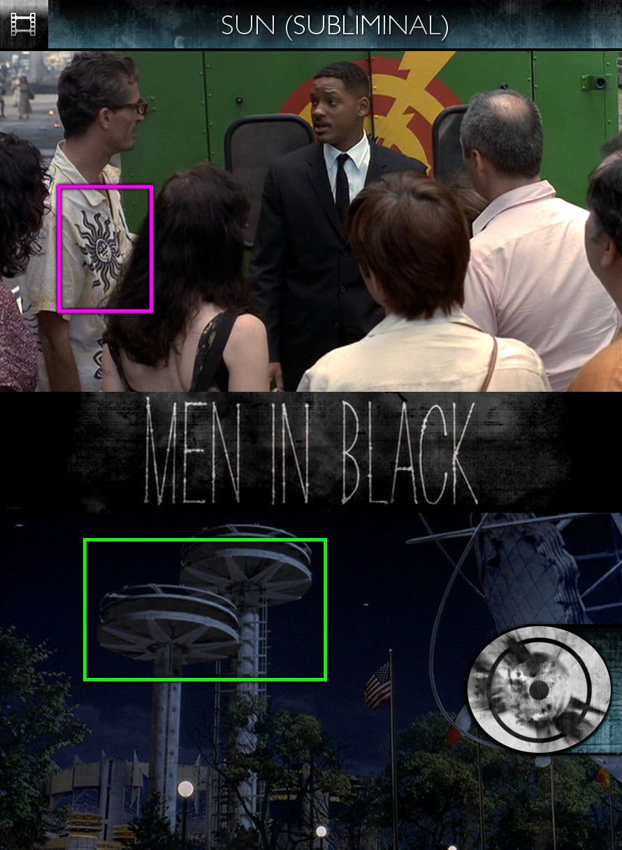 Men in Black (1997) - Sun/Solar - Subliminal