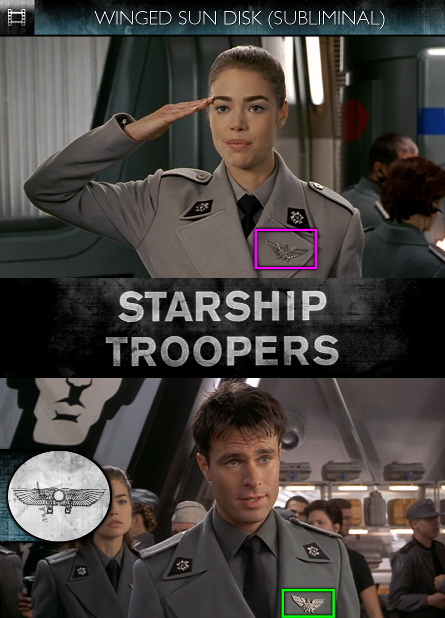 Starship Troopers (1997) - Winged Sun Disk - Subliminal