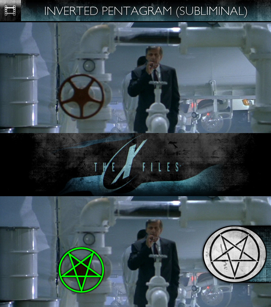 The X-Files: Fight The Future (1998) - Inverted Pentagram - Subliminal