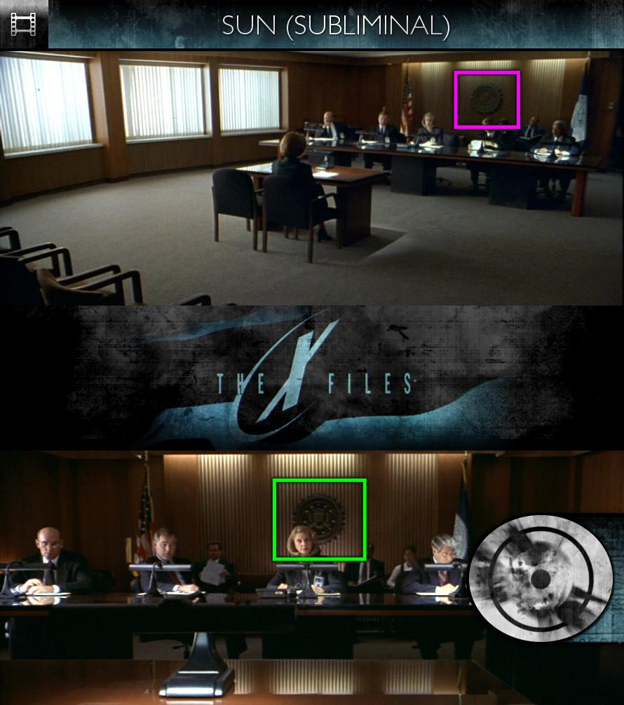 The X-Files: Fight The Future (1998) - Sun/Solar - Subliminal