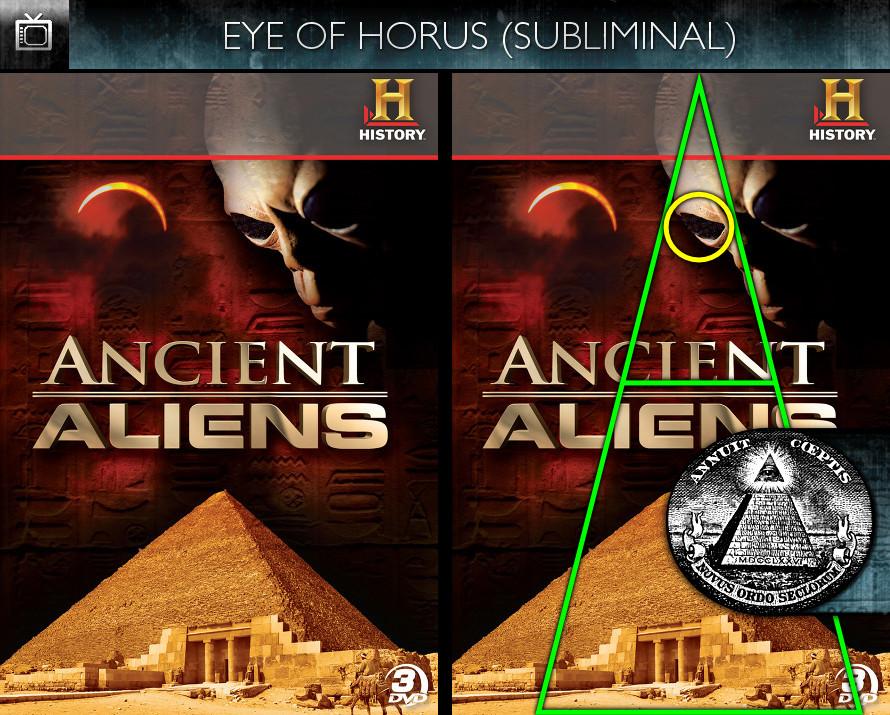 Ancient Aliens (2010) - Season 1 DVD - Eye of Horus - Subliminal