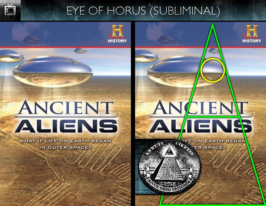 Ancient Aliens (2010) - Season 1 Poster - Eye of Horus - Subliminal