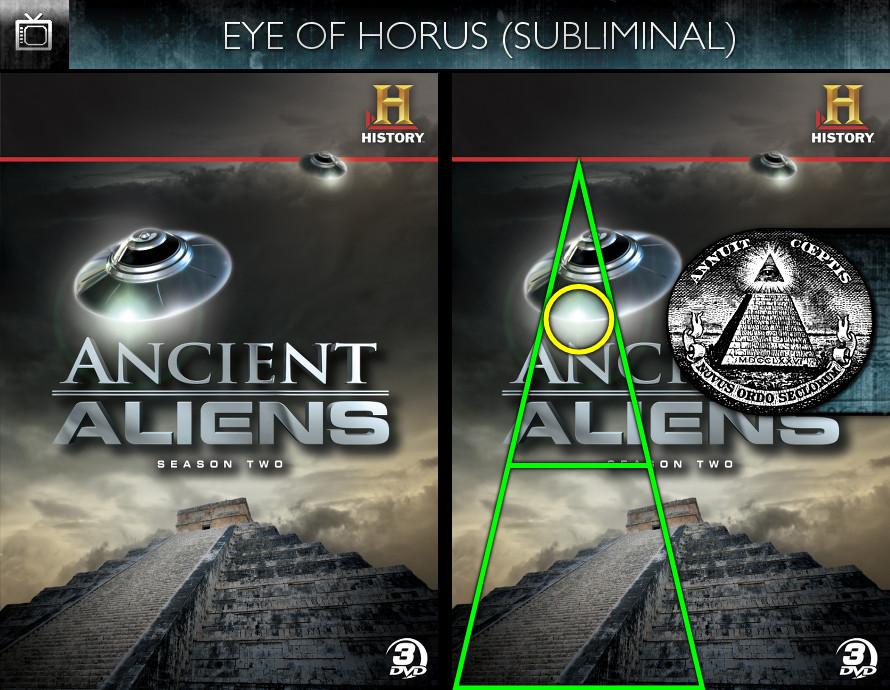 Ancient Aliens (2010) - Season 2 DVD - Eye of Horus - Subliminal