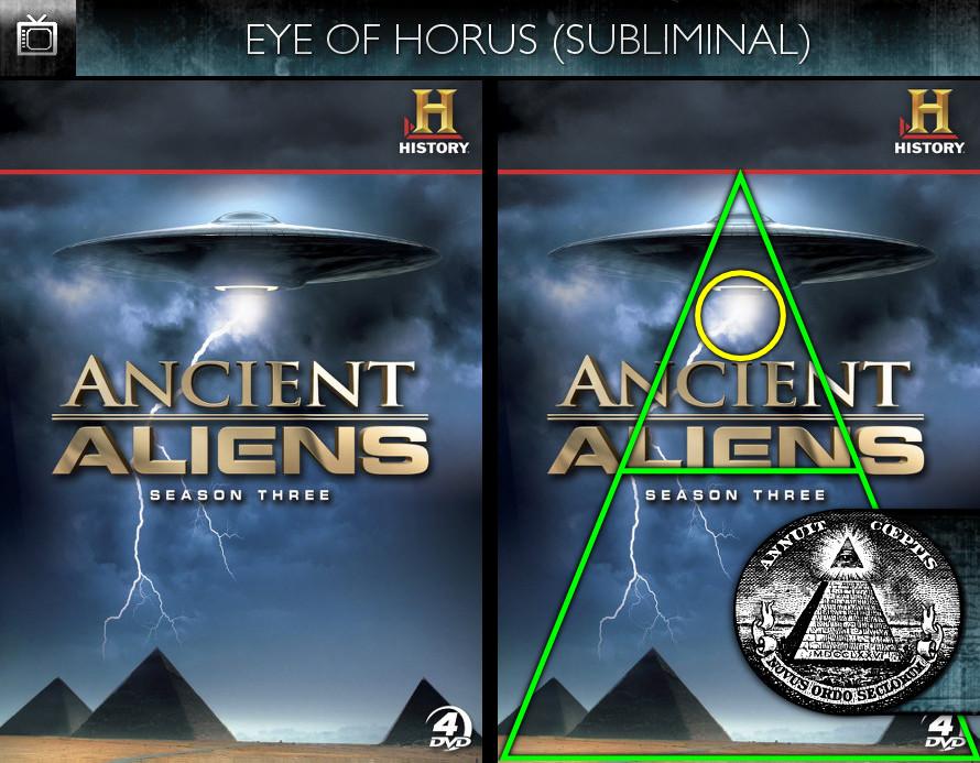 Ancient Aliens (2010) - Season 3 DVD - Eye of Horus - Subliminal