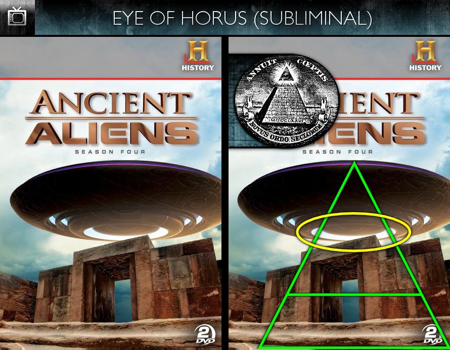 Ancient Aliens (2010) - Season 4 DVD - Eye of Horus - Subliminal