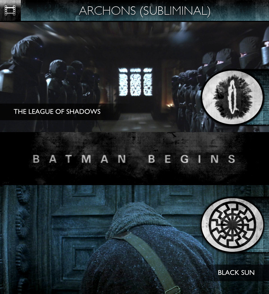 Archons - Batman Begins (2005) - The League of Shadows