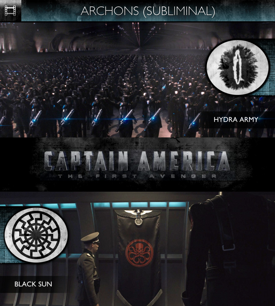 Archons - Captain America: The First Avenger (2011) - Hydra Army