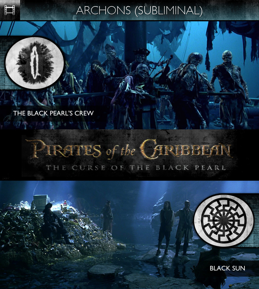Archons - Pirates of the Caribbean: The Curse of the Black Pearl (2003) - The Black Pearl's Crew