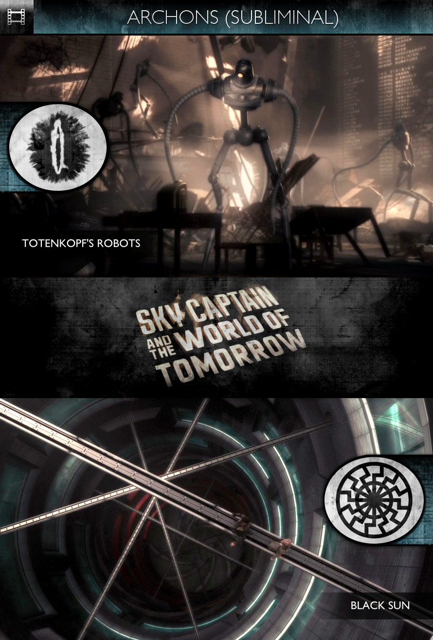Archons - Sky Captain and the World of Tomorrow (2004) - Totenkopf's Robots