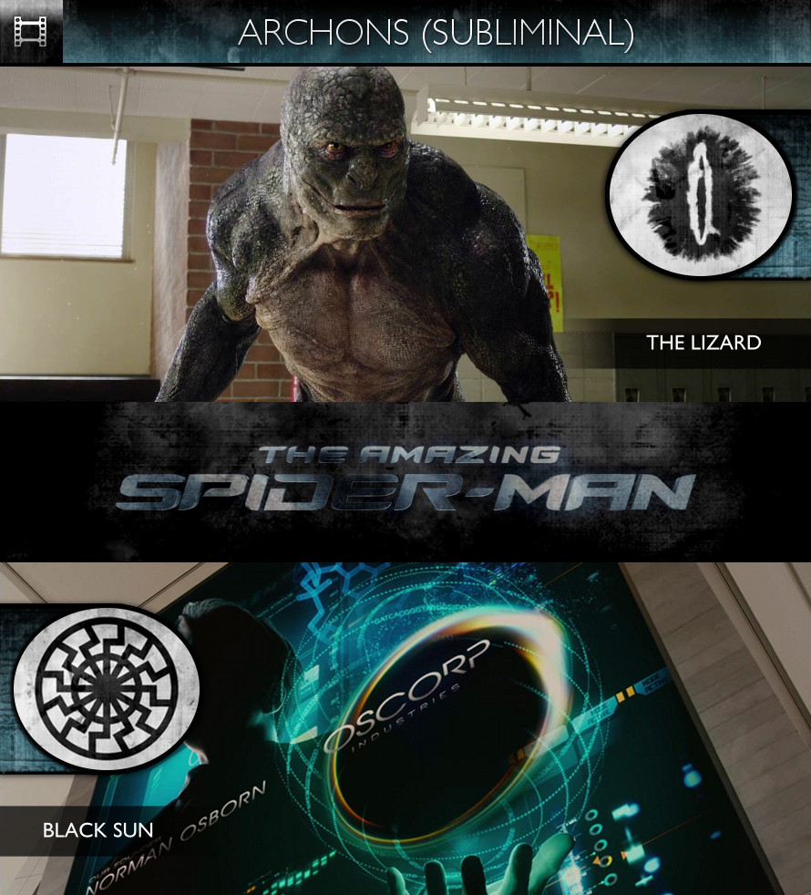 Archons - The Amazing Spider-Man (2012) - The Lizard