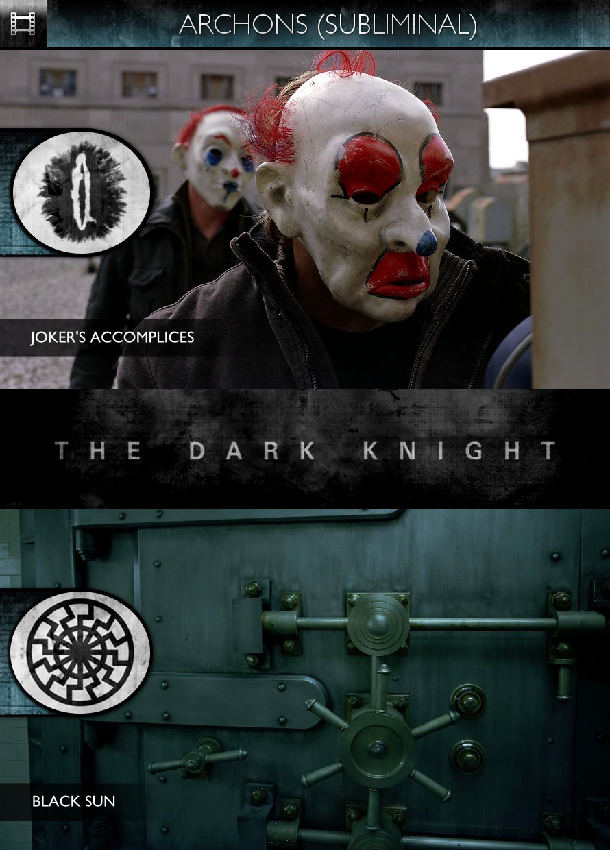 Archons - The Dark Knight (2008) - Joker's Accomplices