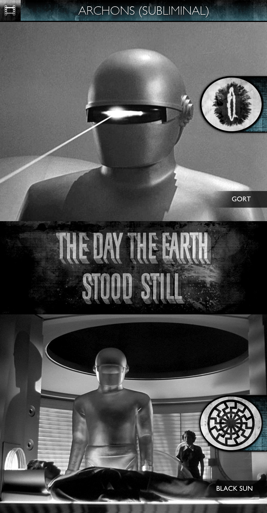 Archons - The Day the Earth Stood Still (1951) - Gort