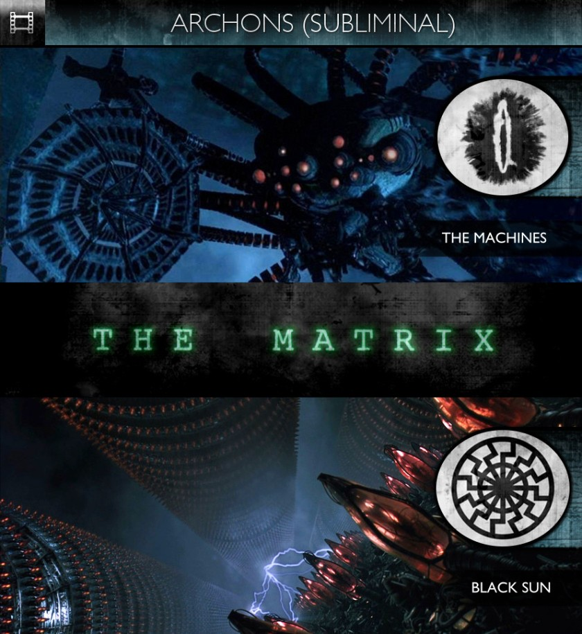 Archons - The Matrix (1999) - The Machines