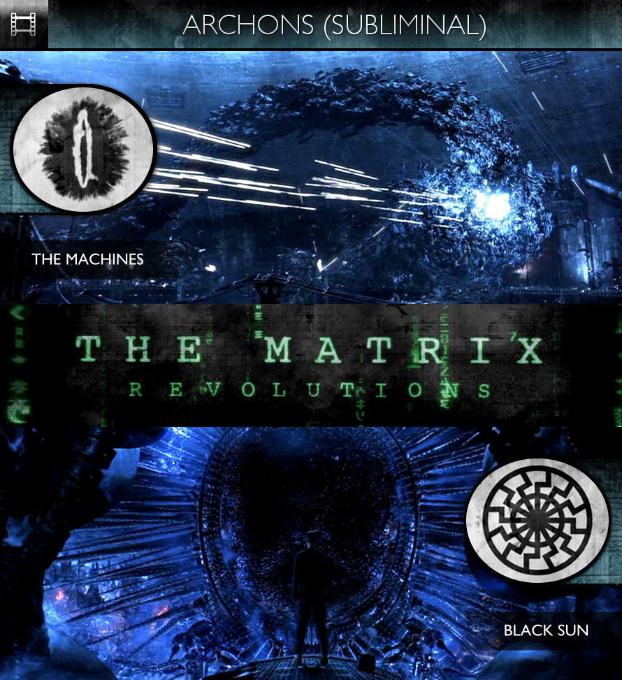 Archons - The Matrix Revolutions (2003) - The Machines