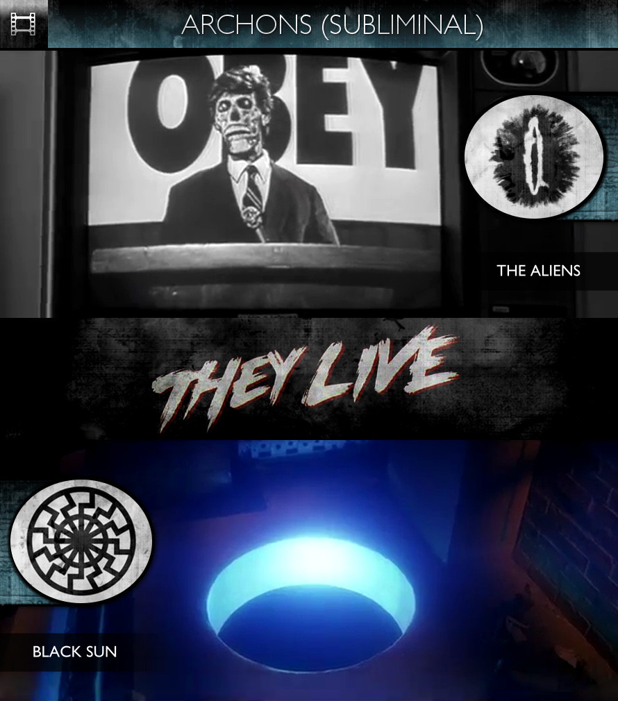 Archons - They Live (1988) - The Aliens