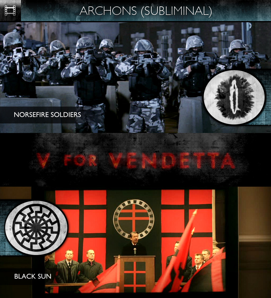 Archons - V For Vendetta (2006) - Norsefire Soldiers