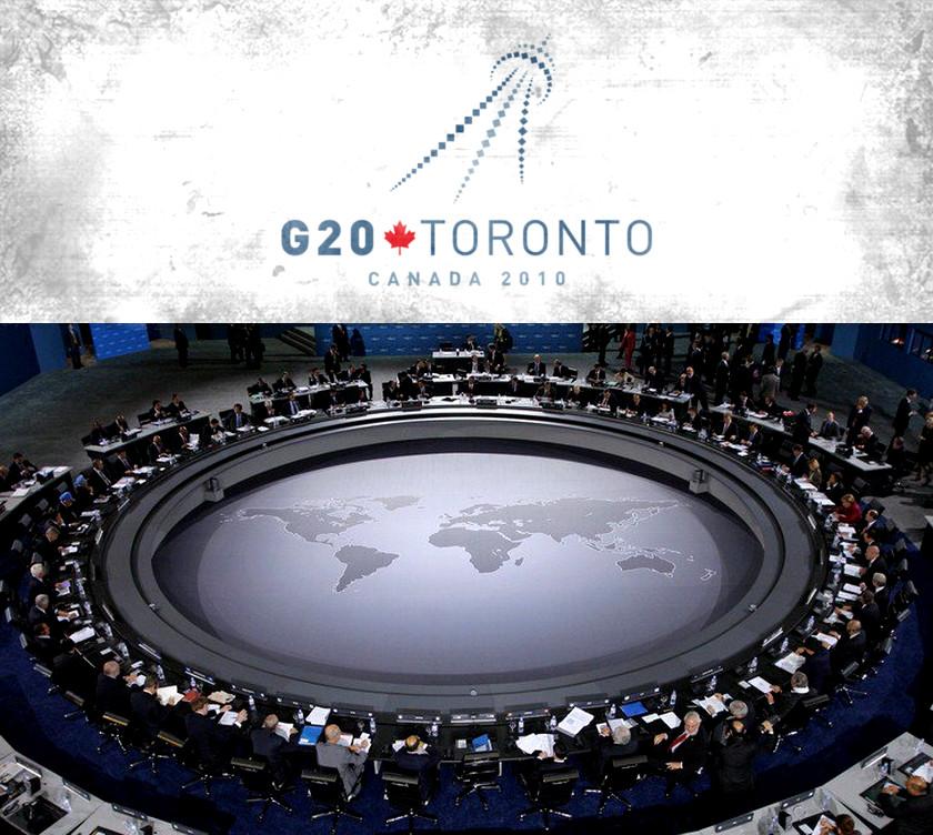 Black Sun - G-20 Summit Table - Toronto 2010