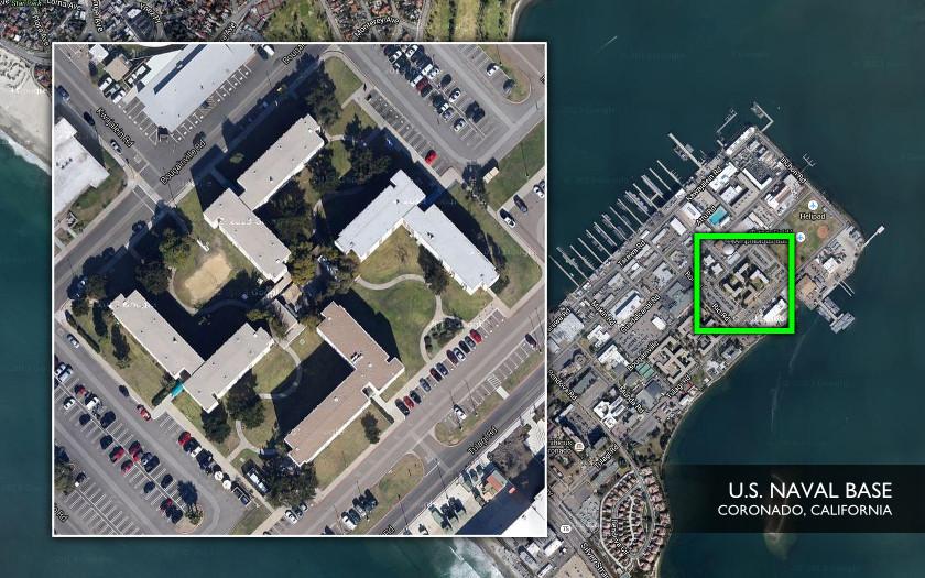 Black Sun - Nazi Swastika - U.S. Naval Base, Coronado
