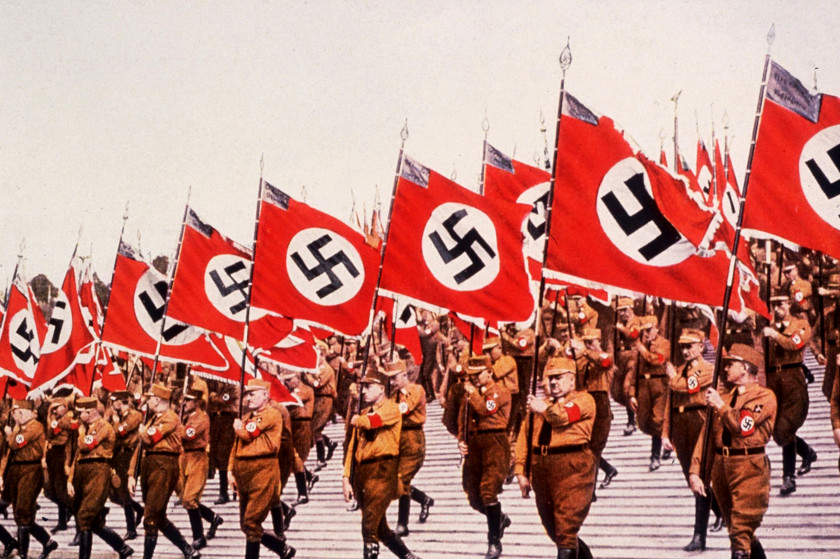 Black Sun - Nazi Swastika