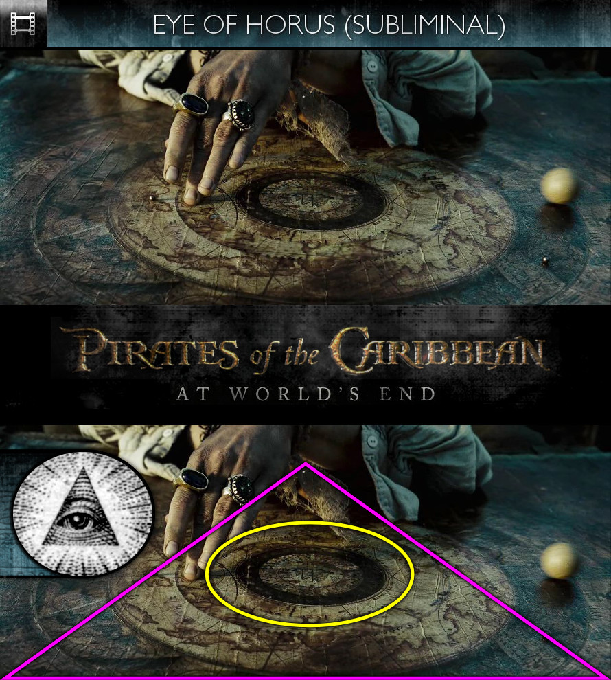 Pirates of the Caribbean: At World's End (2007) - Eye of Horus - Subliminal