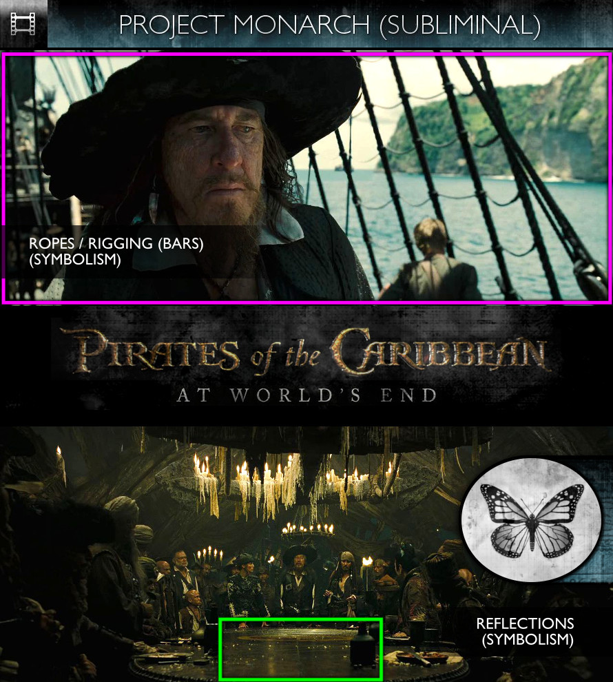 Pirates of the Caribbean: At World's End (2007) - Project Monarch - Subliminal