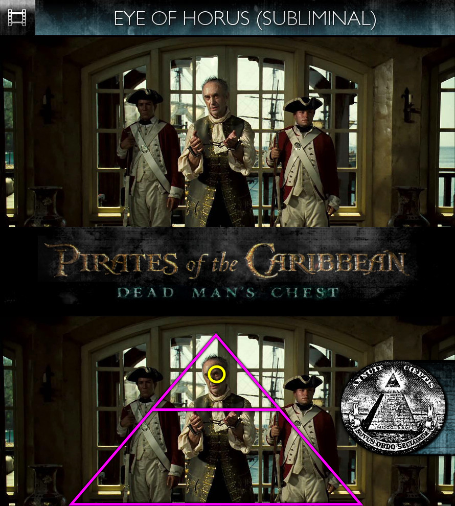Pirates of the Caribbean: Dead Man's Chest (2006) - Eye of Horus - Subliminal