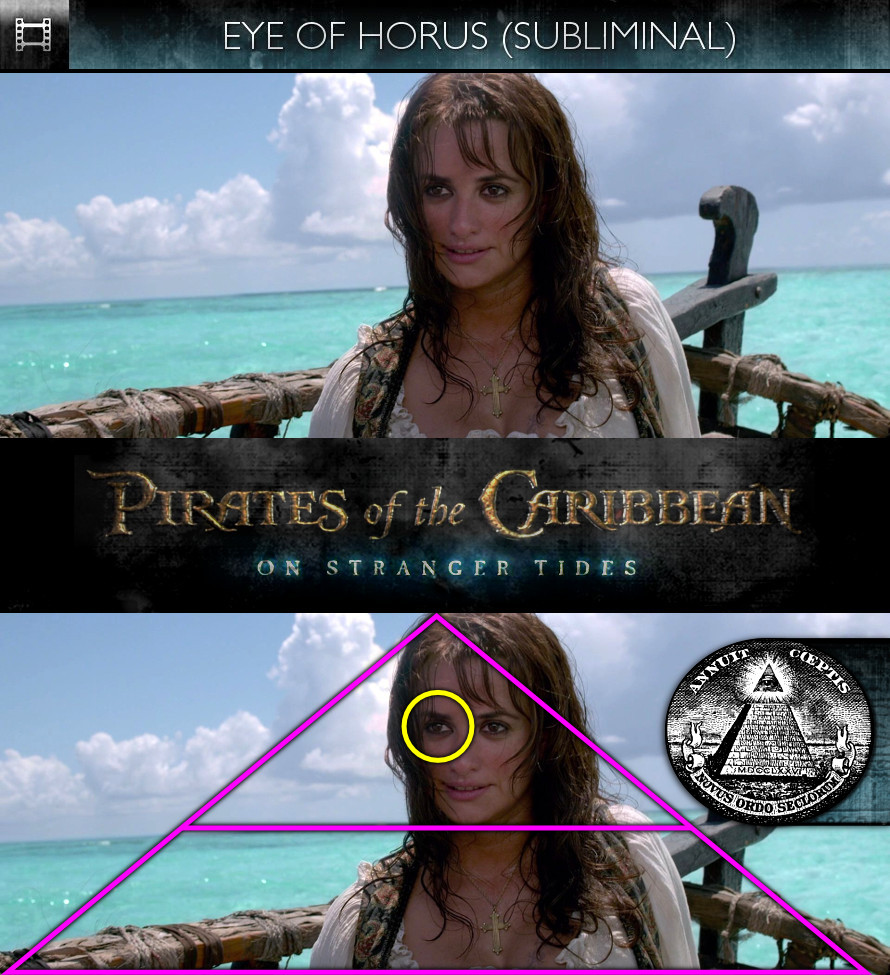 Pirates of the Caribbean: On Stranger Tides (2011) - Eye of Horus - Subliminal