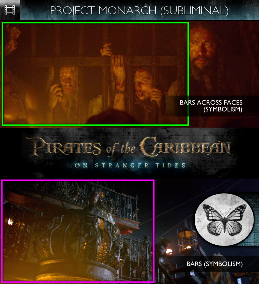 Pirates of the Caribbean: On Stranger Tides (2011) - Project Monarch - Subliminal