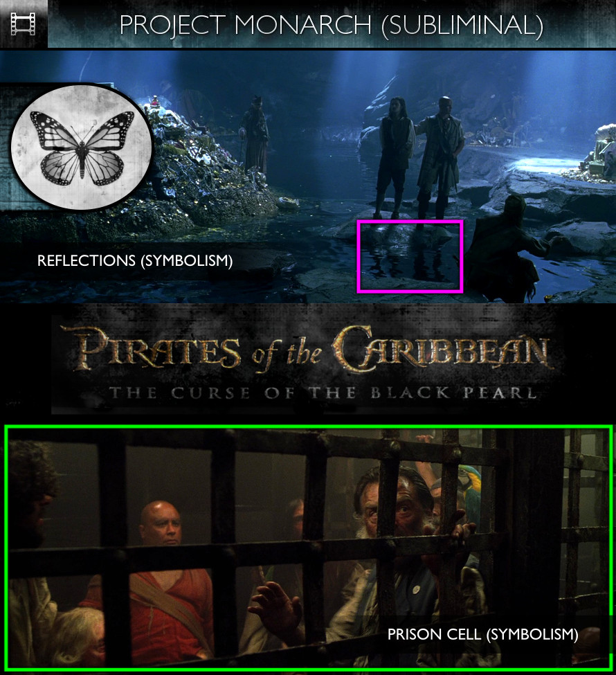 Pirates of the Caribbean: The Curse of the Black Pearl (2003) - Project Monarch - Subliminal