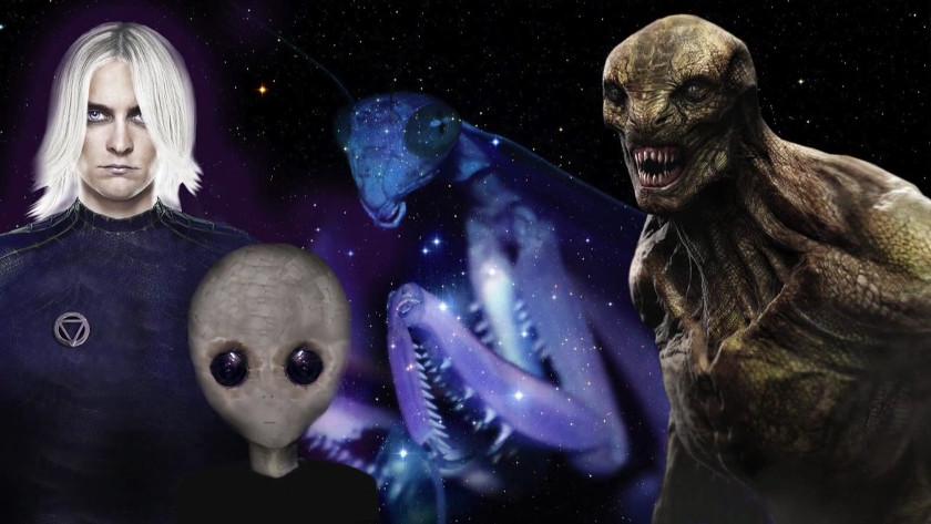 Primary Alien Races