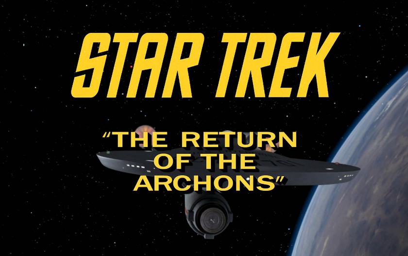 Star Trek-TOS - 1x21-The Return of the Archons