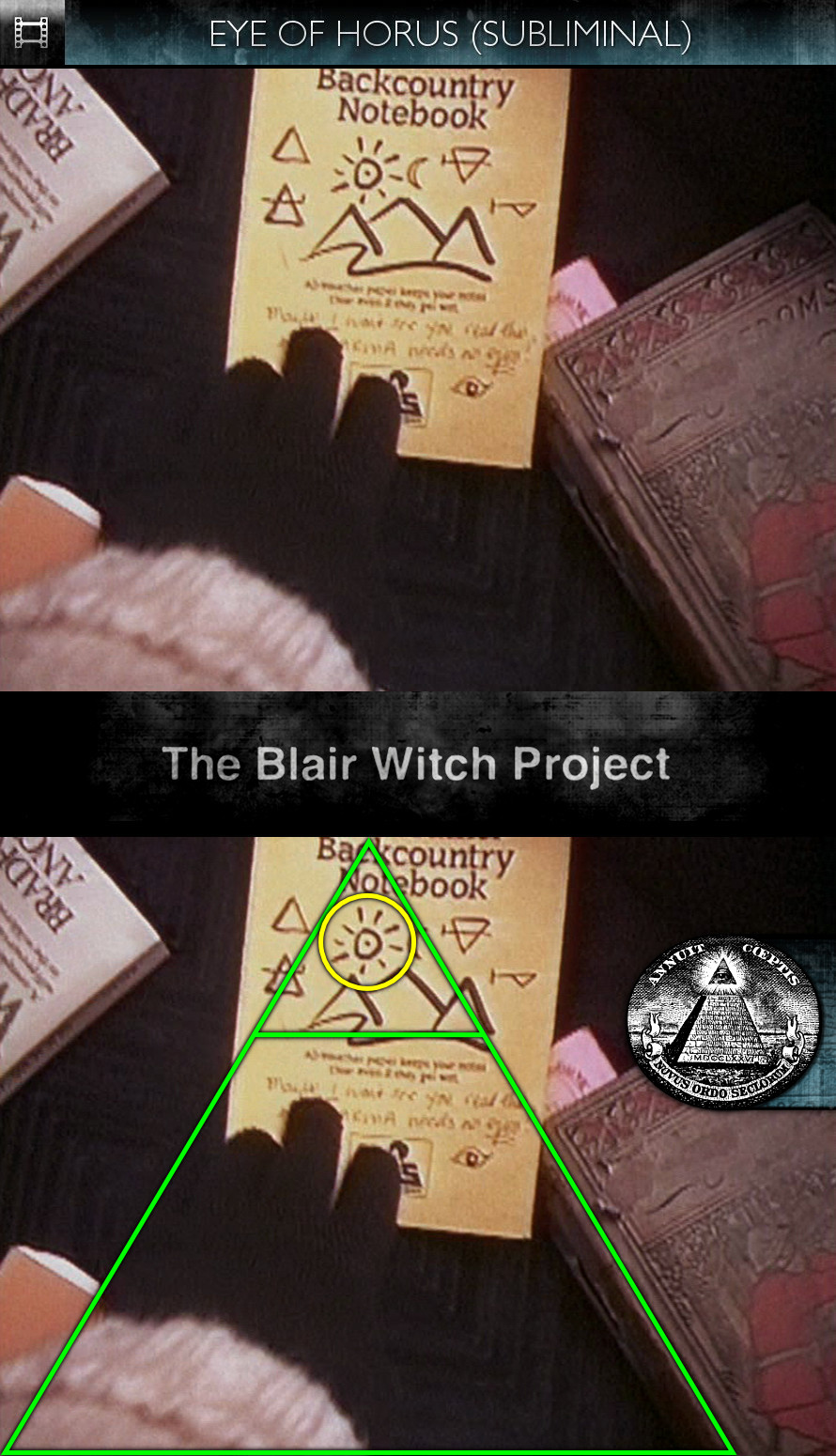 The Blair Witch Project (1999) - Eye of Horus - Subliminal