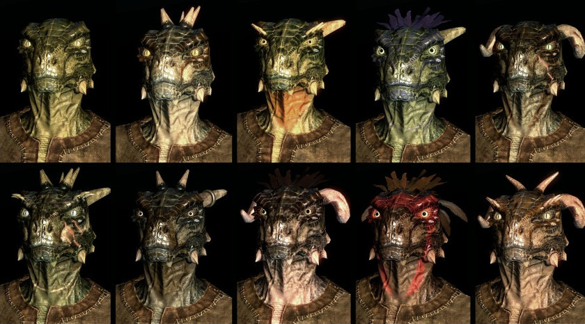 The Elder Scrolls - Argonians-1