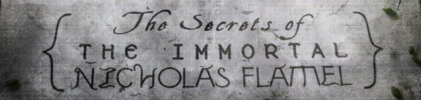 The Secrets of the Immortal Nicholas Flamel-Logo