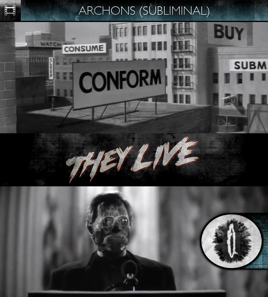 They Live (1988) - Archons - Subliminal