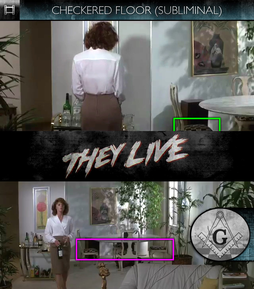 They Live (1988) - Checkered Floor - Subliminal