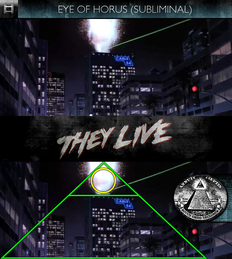 They Live (1988) - Eye of Horus - Subliminal