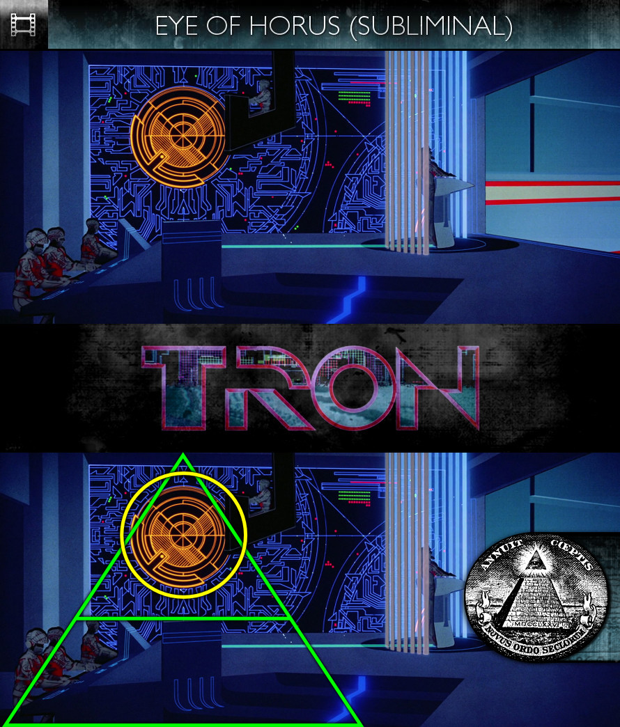 TRON (1982) - Eye of Horus - Subliminal