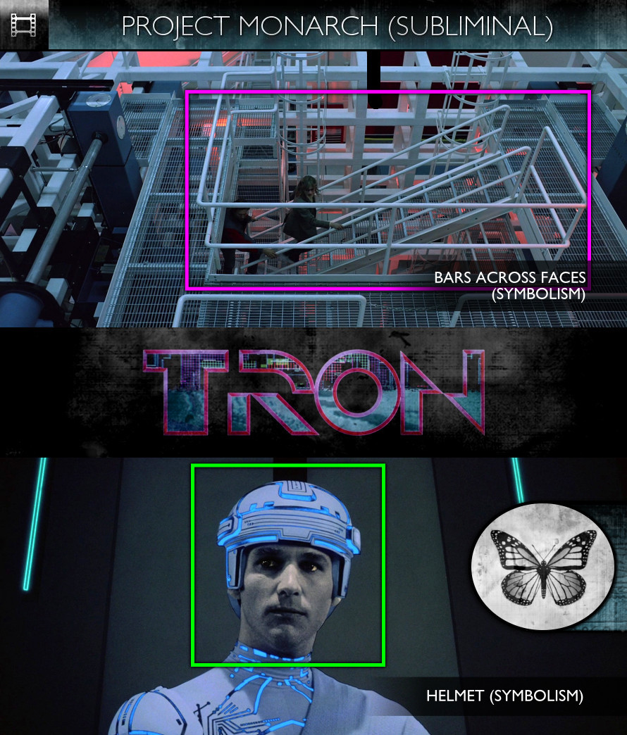 TRON (1982) - Project Monarch - Subliminal
