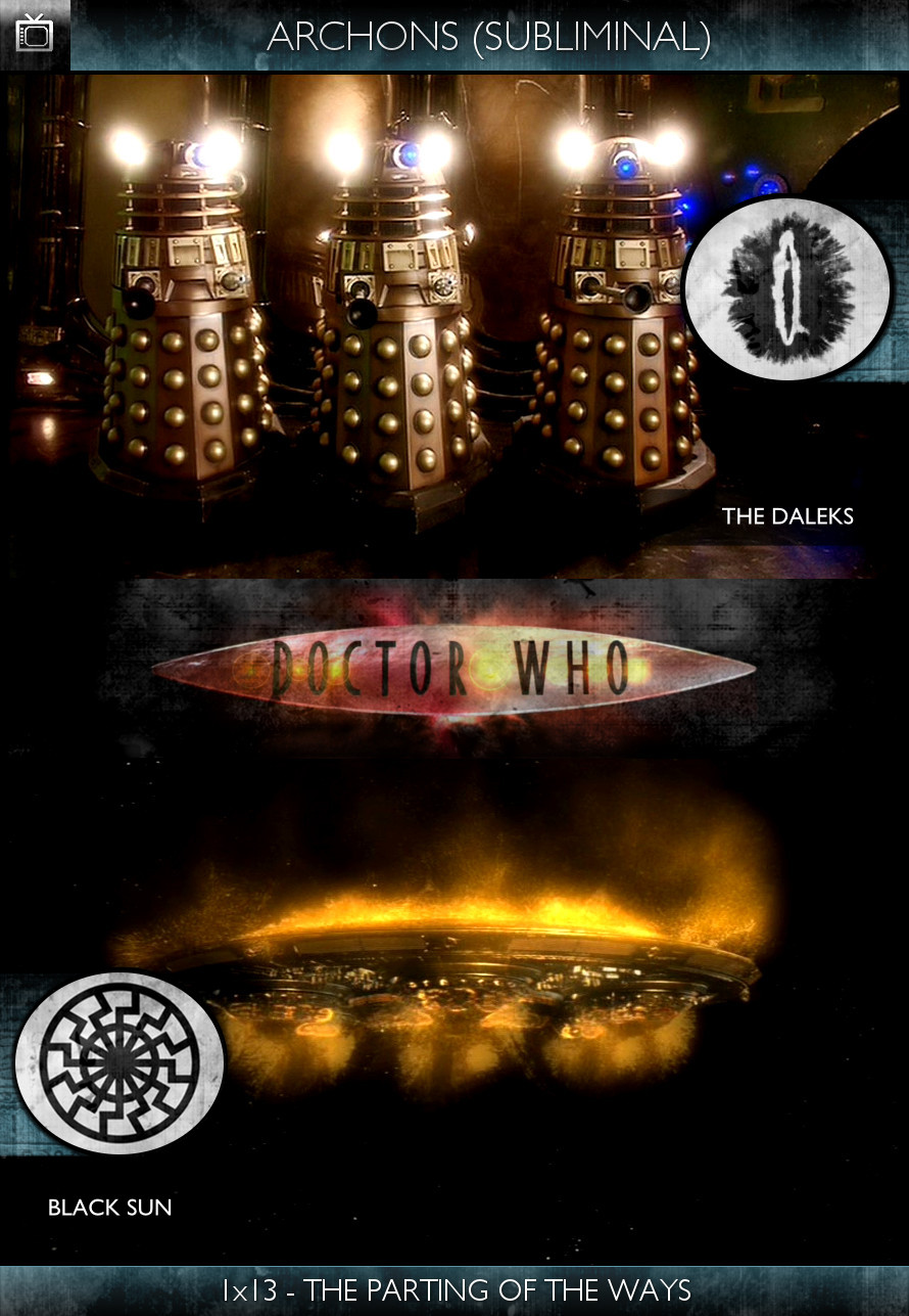 Archons - Doctor Who (2005) - 1x13-The Parting of the Ways - The Daleks