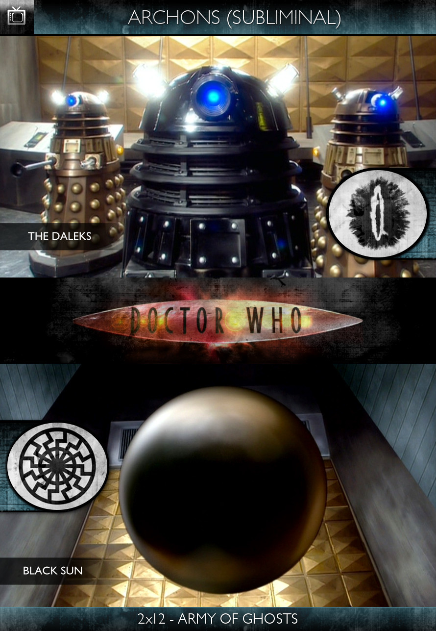 Archons - Doctor Who (2005) - 2x12 - Army of Ghosts - The Daleks
