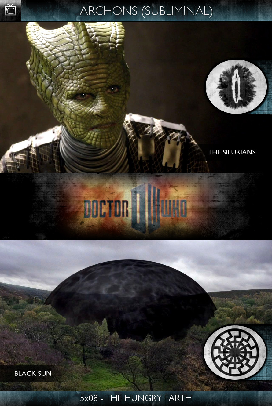 Archons - Doctor Who (2010) - 5x08-The Hungry Earth - The Silurians
